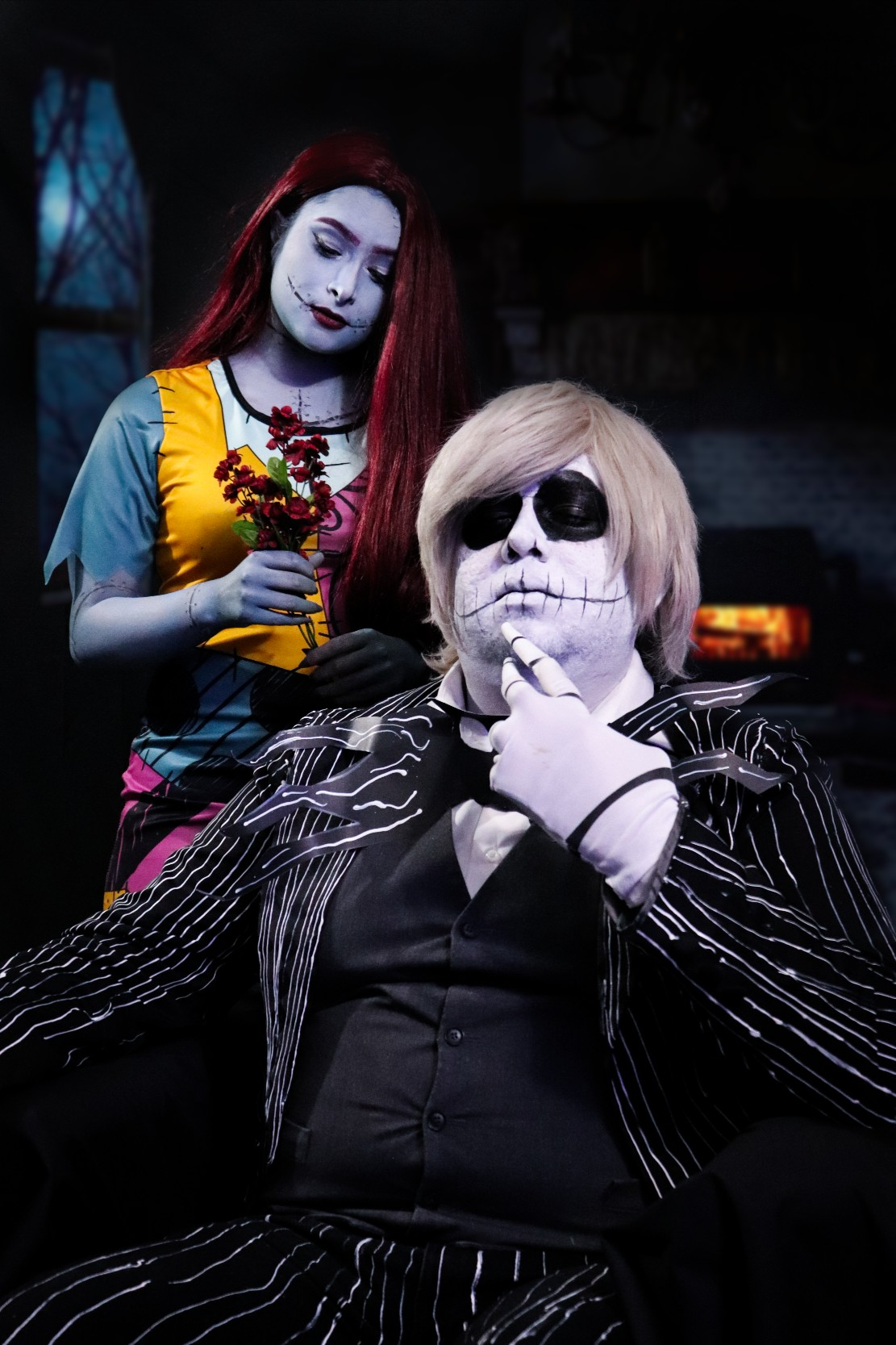 Jack _ Sally Cosplay Oct