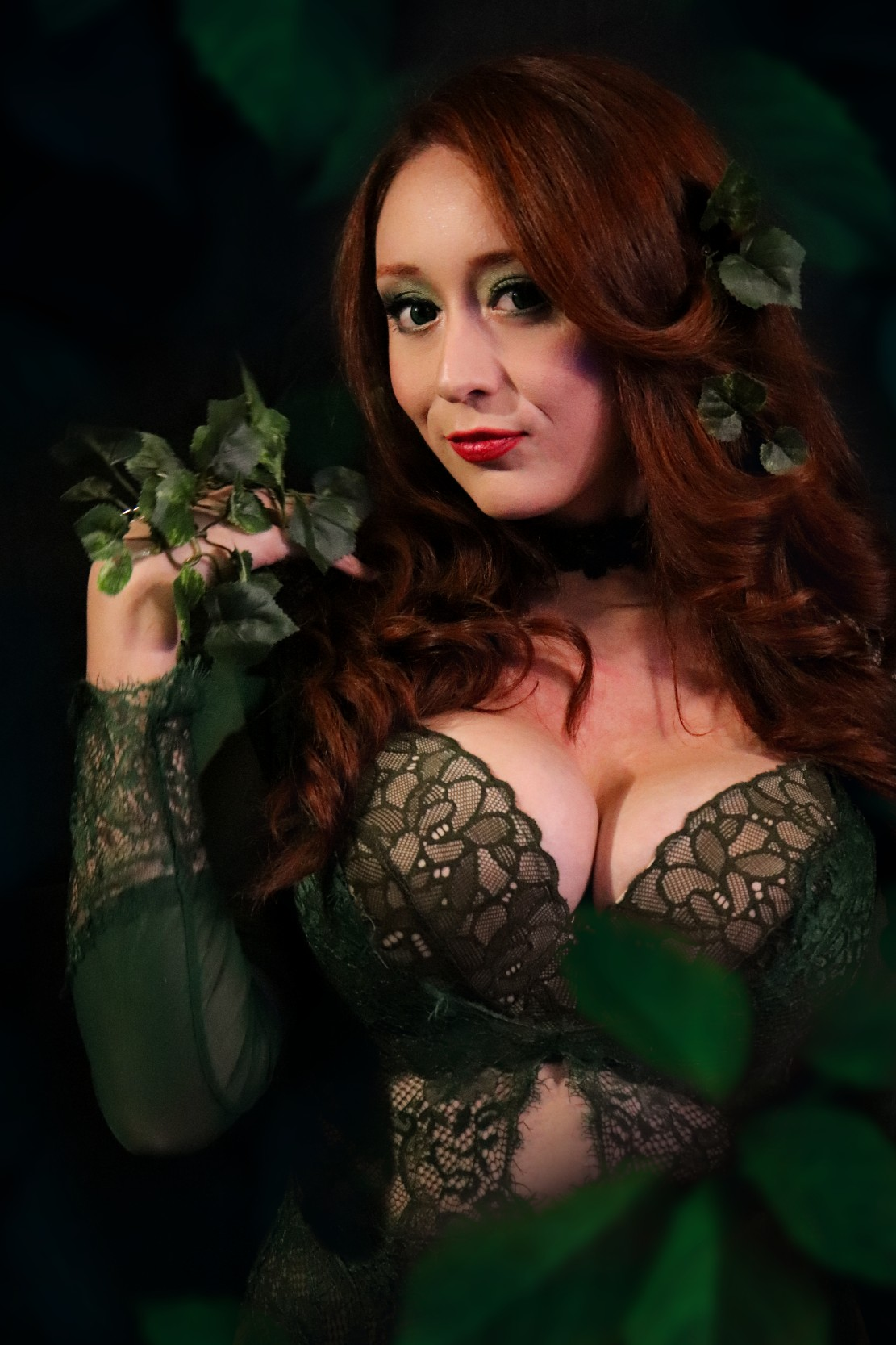 Poison Ivy Cosplay Mar